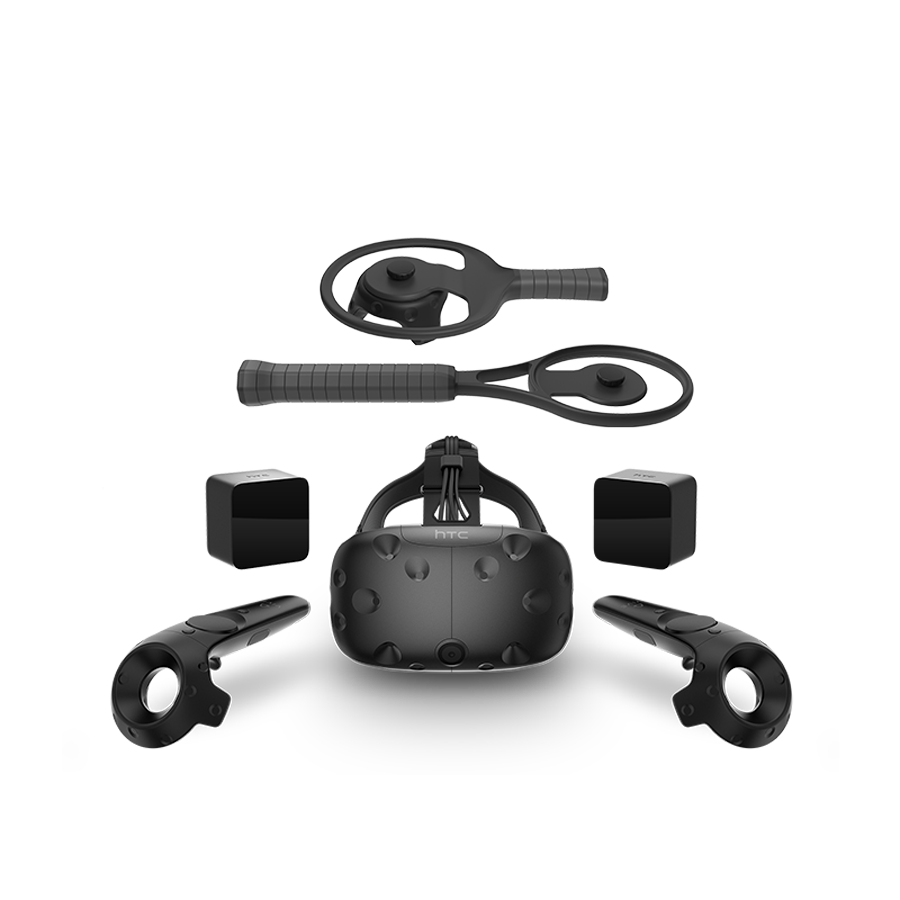 Racket Sports Set with VIVE VR System and VIVE Tracker