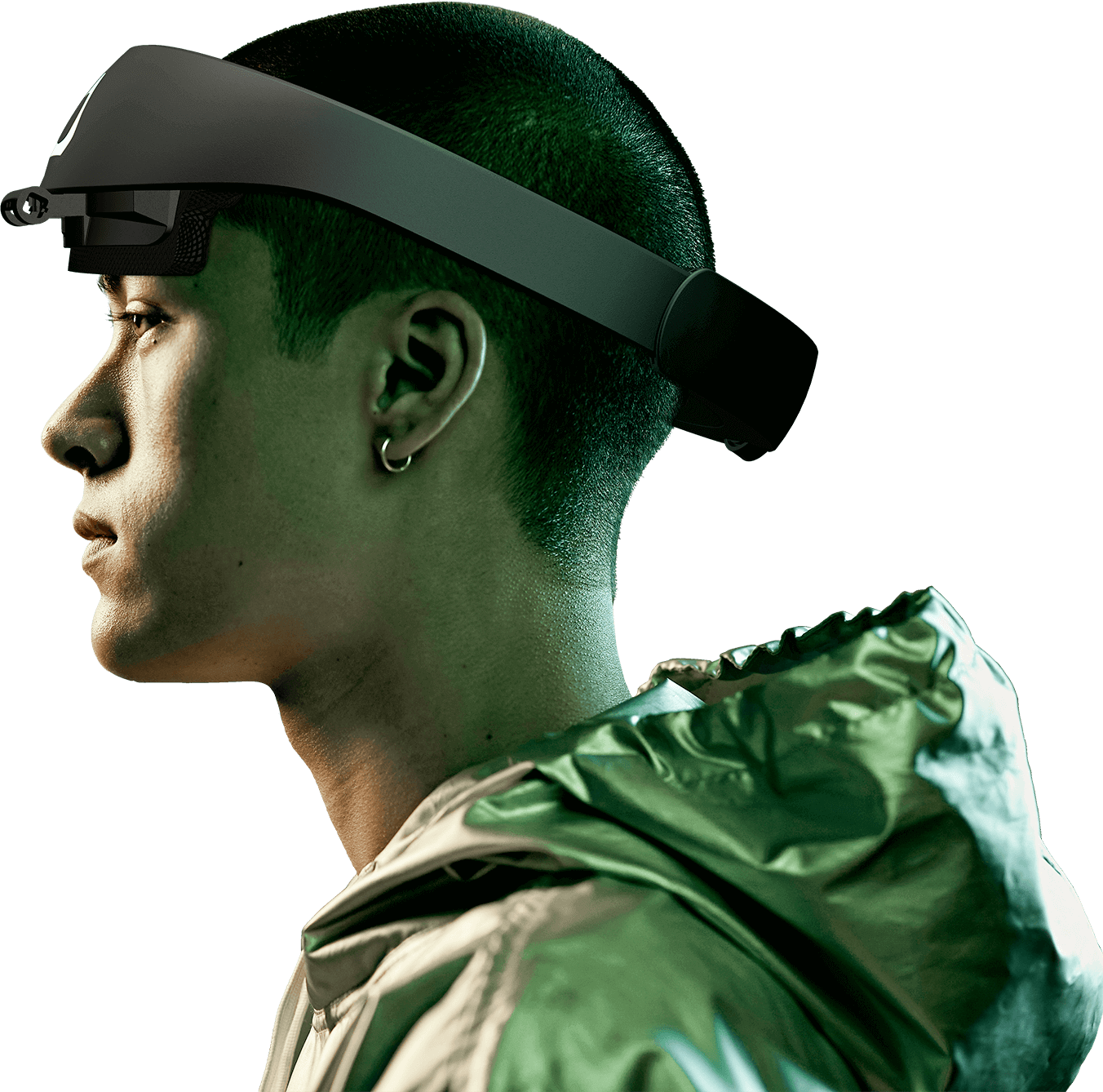 player using VIVE Cosmos Headset