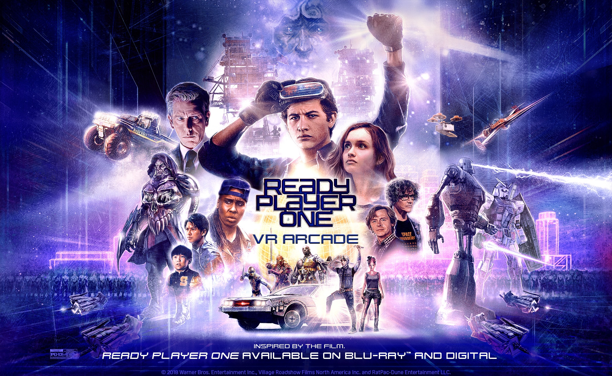 Ready Player One VR Arcade
